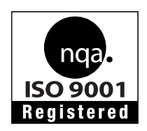 BG Peck is ISO 9001 Registered and certified